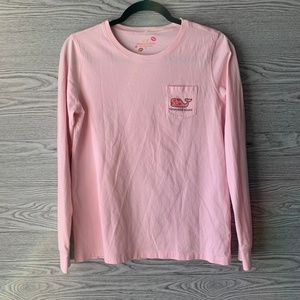 Limited Edition Vineyard Vines Pink Long Sleeve